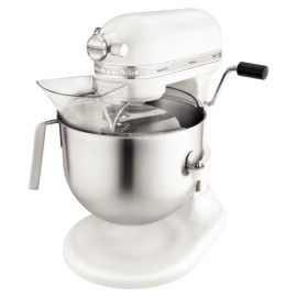 KitchenAid professionele mixer, 6,9 liter, wit