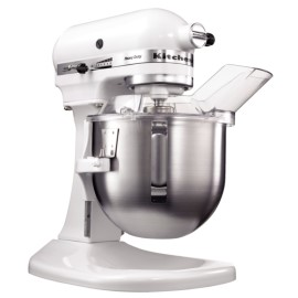 KitchenAid K5 heavy duty mixer, 4,8 liter, wit