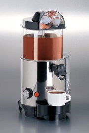 Warme chocolademelk dispenser, CAB 5 liter