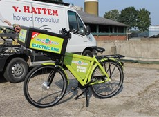 New York Pizza e - bike by van Hattem Horeca