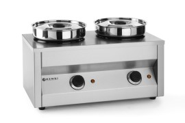 Hendi thermosystem two 2-pans bain-marie