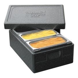 Thermo ijstransportbox