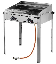 Hendi barbecue green fire 2 branders