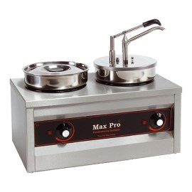 Max Pro 2-pans hot(-saus)dispenser