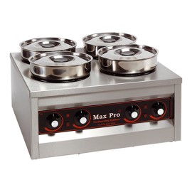 Max Pro 4-pans foodwarmer bain-marie