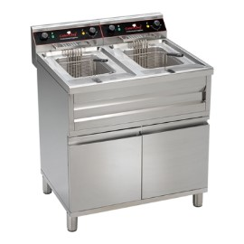CaterChef friteuse staand model 2x 12 liter