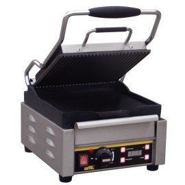 Buffalo contactgrill, compact, boven gegroefd / onder glad