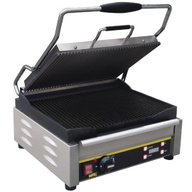 Buffalo contactgrill, large, boven en onder gegroefd