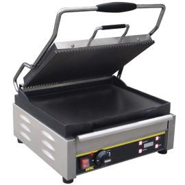 Buffalo contactgrill, large, boven gegroefd / onder glad