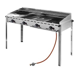 Hendi gasbarbecue, Model Green Fire, 4 branders 149607
