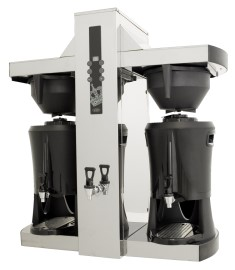 Machine a café filtre, 2 containers dispencer 2x 5 Lit , robinet